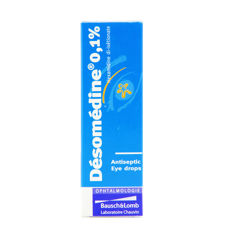 Bausch & Lomb Desomedine 0.1 % Antiseptic Eye Drop, 10ml