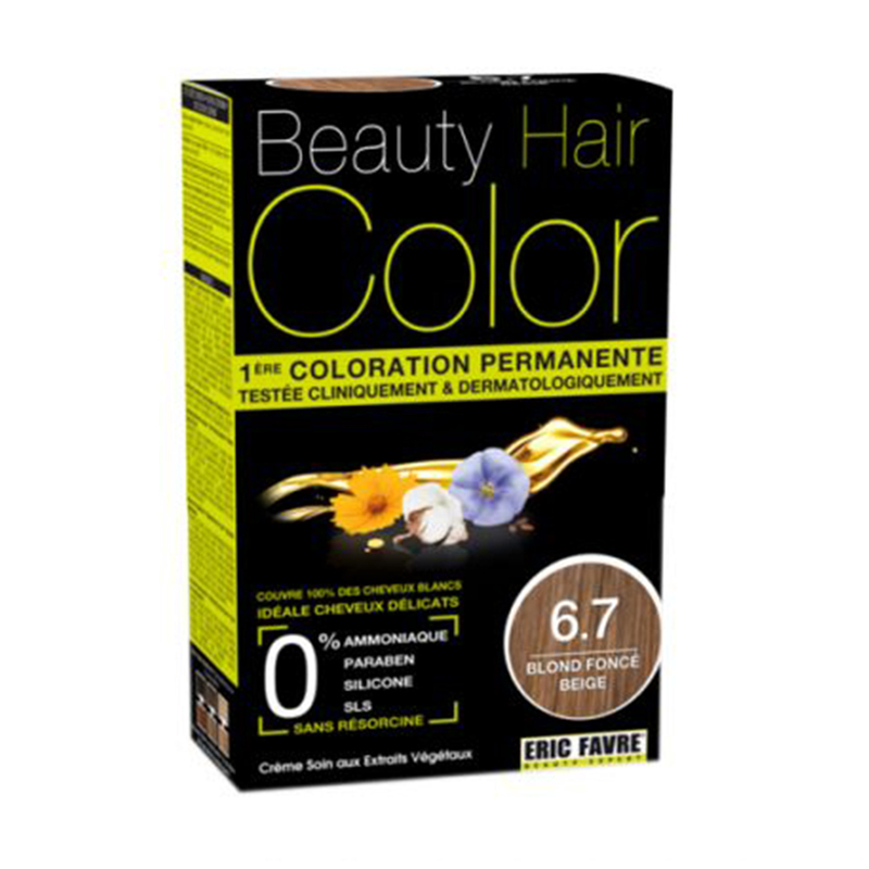 Beauty Hair Color  6.7 Blonde Fonce Beige