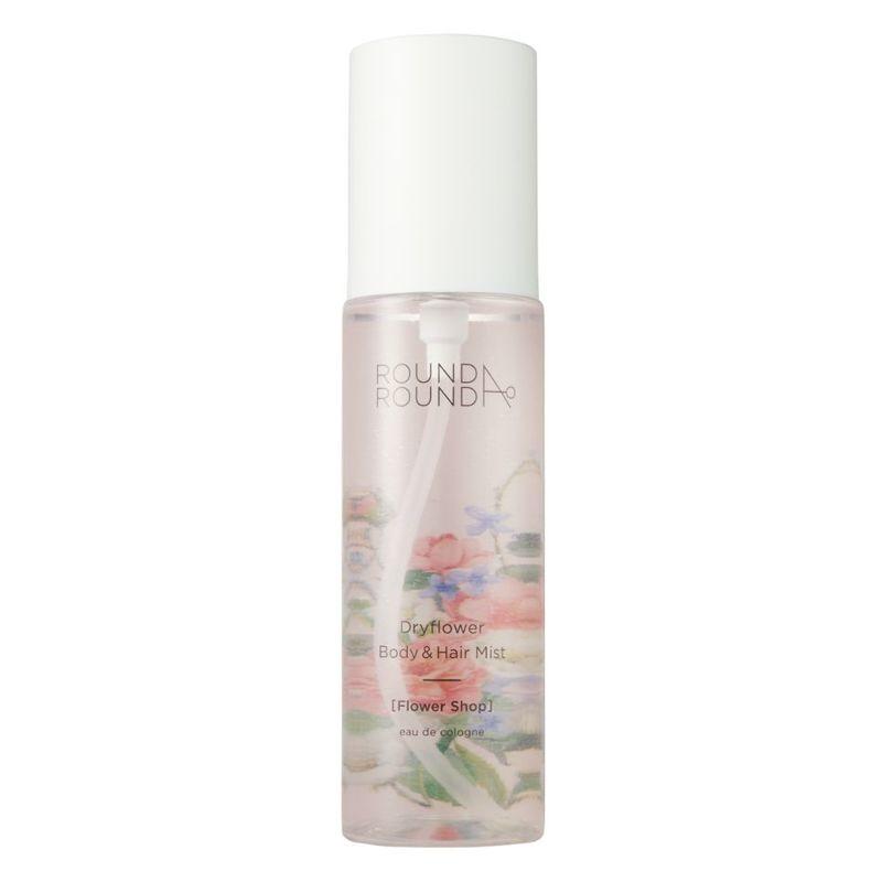 Round A'Round Dryflower Body & Hair Mist (Flower Shop)100ml