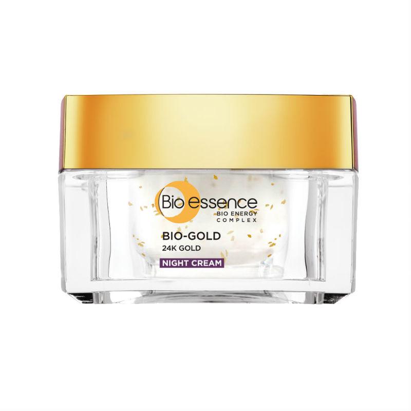 Bio-essence Bio-Gold Night Cream, 40g