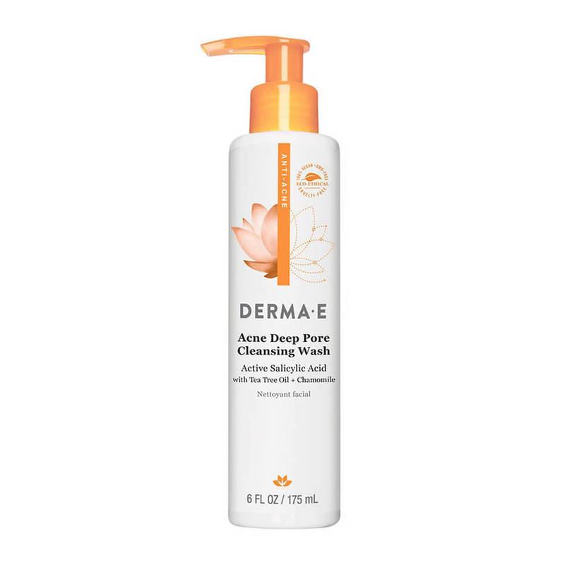 Derma E Acne Deep Pore Cleansing Wash, 175ml