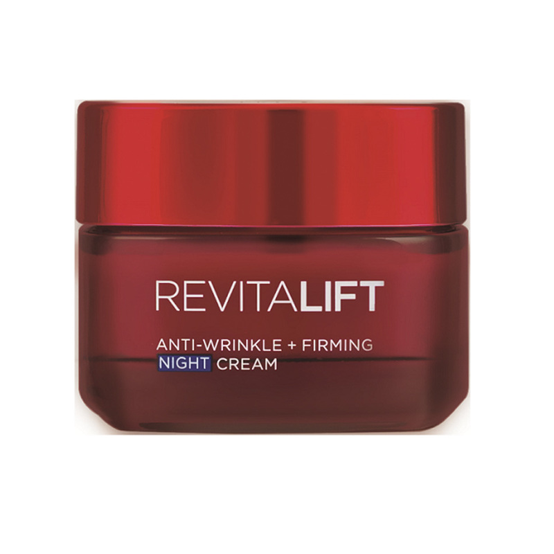 Dermo-Expertise L'Oreal RevitaLift Anti-Wrinkle + Firming Night Cream, 50ml