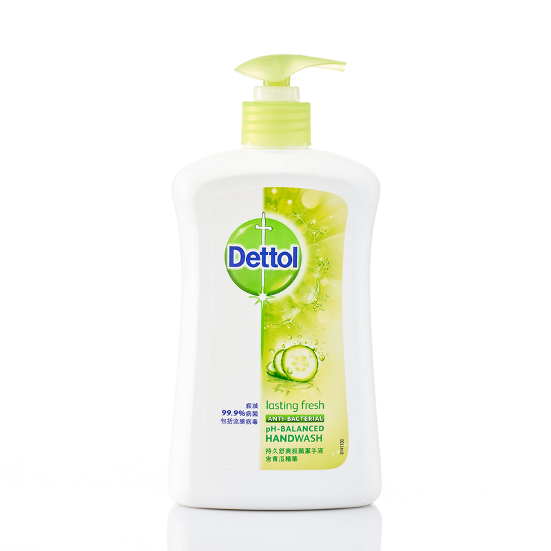 Dettol Anti-Bacterial Hand Wash (Lasting Fresh) 500g