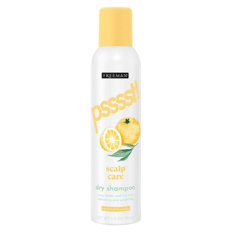 Freeman Psssst Scalp Care Dry Shampoo Yuzu Lemon and Tea Tree, 150g
