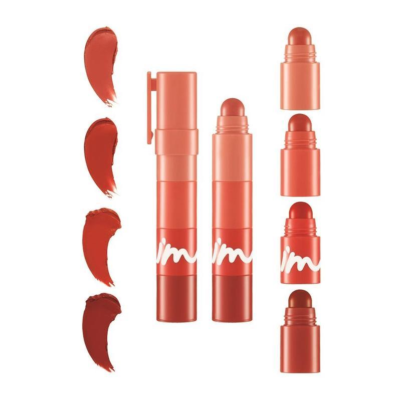 I'm Meme Multi Lip Crayon Matte 002 Coral On My Lips, 3.2g
