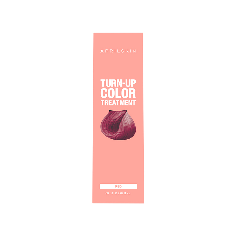 Aprilskin Turn Up Color Treatment Red, 60ml