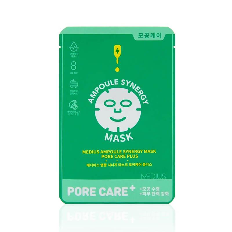 Medius Ampoule Synergy Mask Pore Care PluS