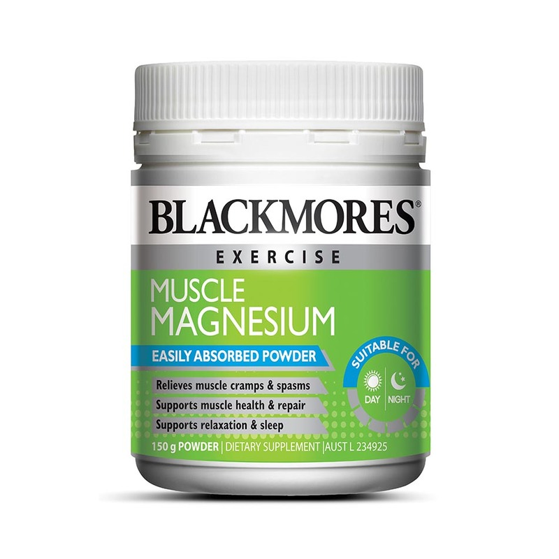 Blackmores Muscle Magnesium Powdert, 150g