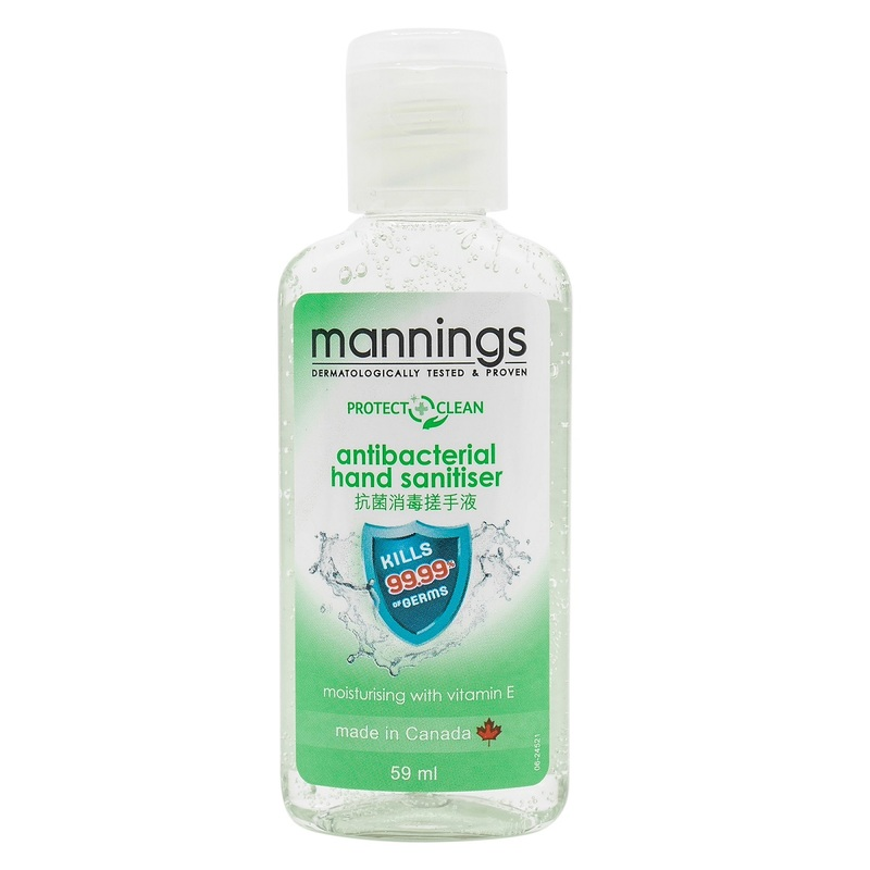 Mannings Hand Sanitizer 59mL