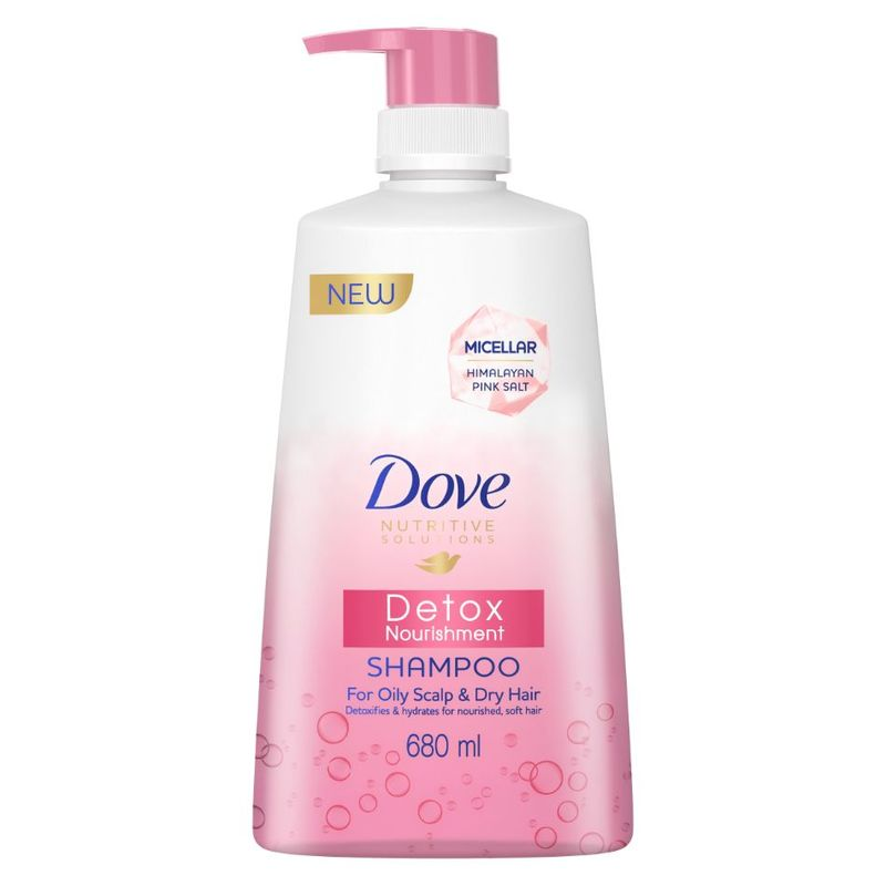 Dove Detox Nourishment Shampoo 680ml