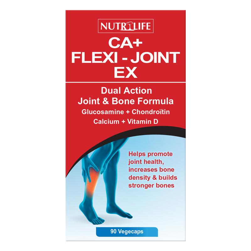 Nutrilife CA+ Flexi-Joint EX, 90 capsules