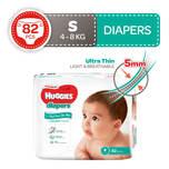 Huggies Platinum Diapers S, 82pcs