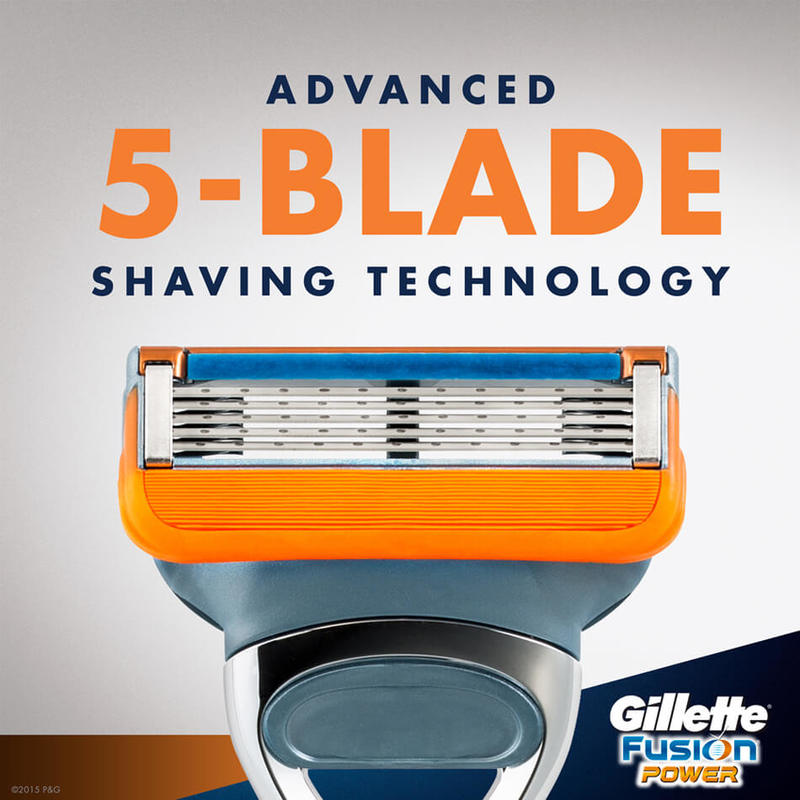 Gillette Fusion Power Refill, 4s
