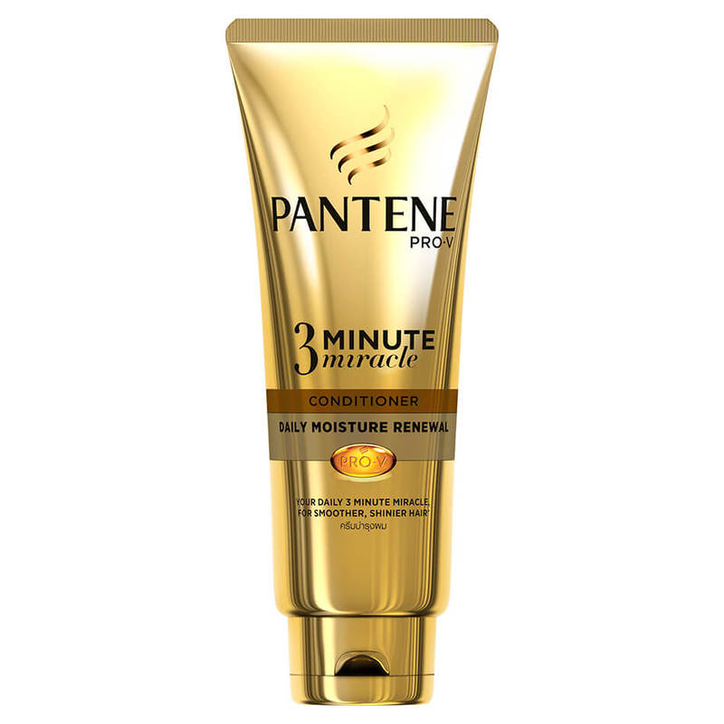 Pantene Daily Moisture 3 Minute Miracle Conditioner, 70ml