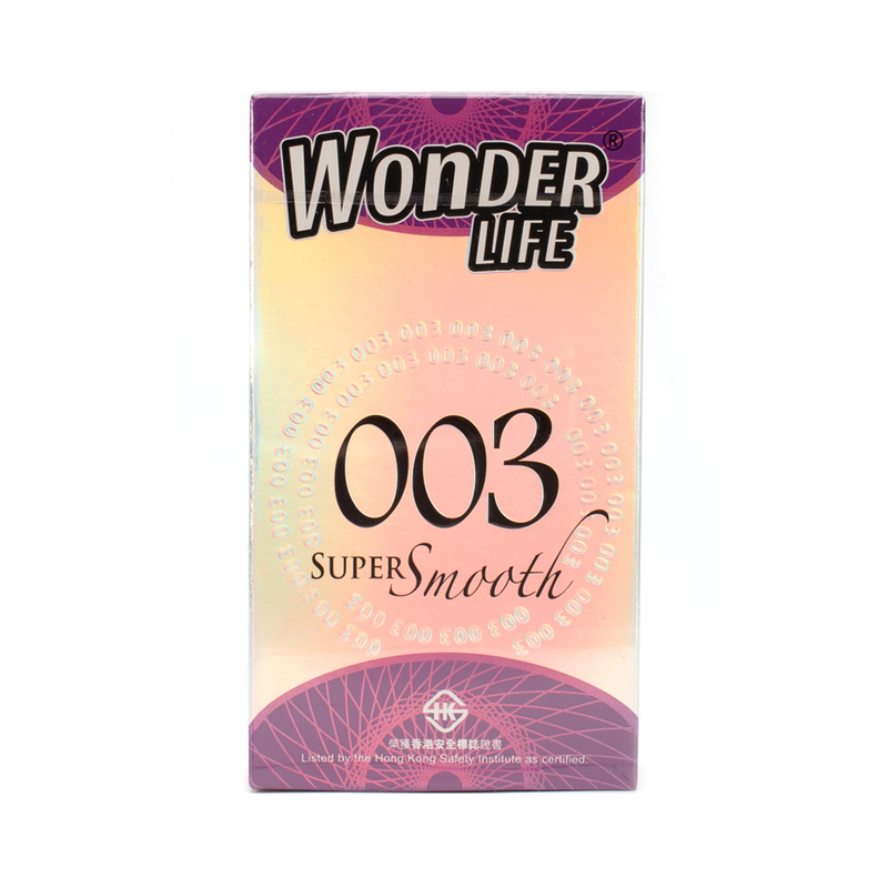 Wonderlife 003 Super Smooth Ultra Thin 10pcs
