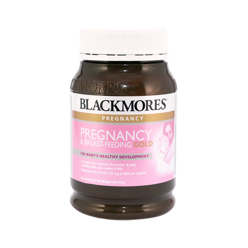 Blackmores Pregnancy&Breast Feeding Gold 180pcs