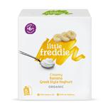 Little Freddie Organic Creamy Banana Greek Style Yoghurt (Multipack) 100gx5