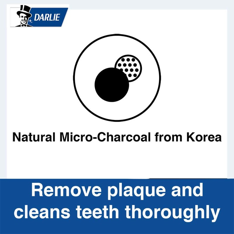 Darlie All Shiny White Charcoal Clean Whitening Toothpaste 140g