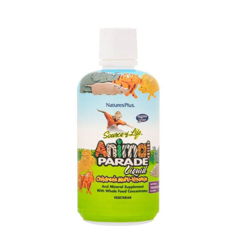Natures Plus Animal Parade Liquid Multi-Vitamin, 326ml