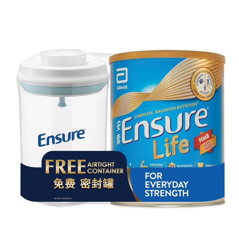 Ensure Vanilla 850G Bw Container