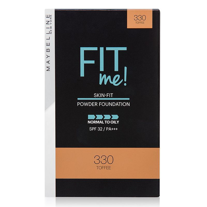Maybelline Fit Me Powder Foundation SPF Toffee 330 9g