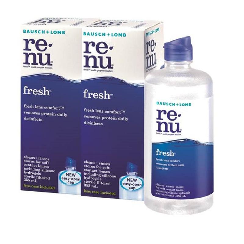 Bausch&Lomb RENU Multi-Purpose Solution 355mL X 2 Bottles