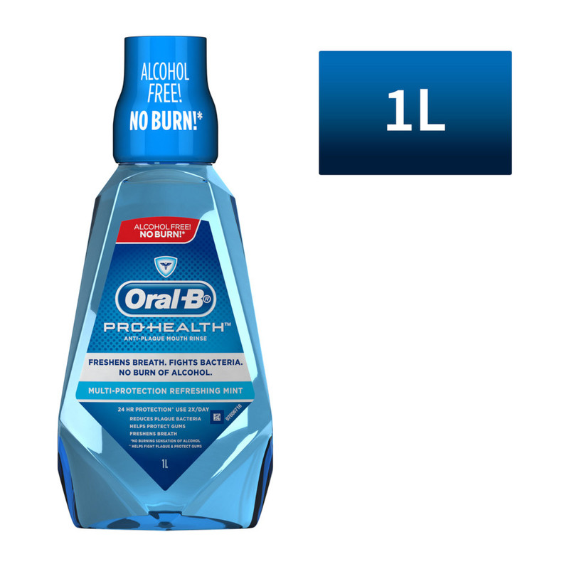 Oral-B Refreshing Mint Rinse 1000ml