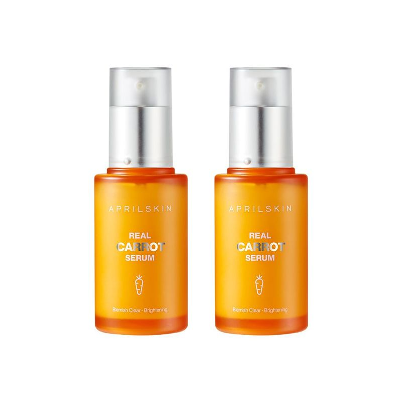 Aprilskin Real Carrot Blemish Clear Serum Set (45x2)g