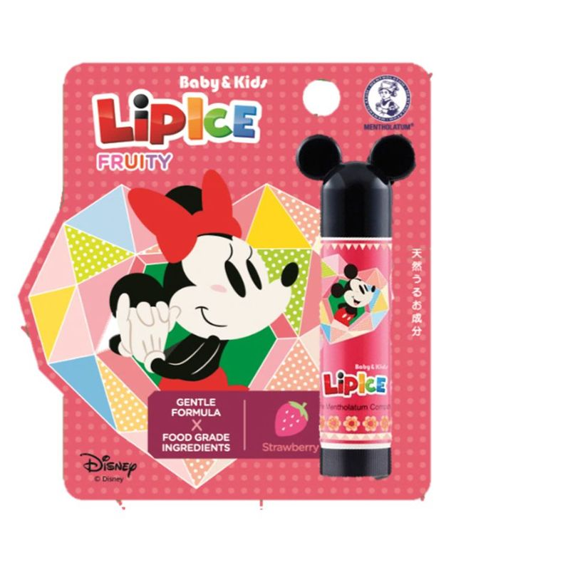 Mentholatum Lipcare Disney LipIce Kids Strawberry