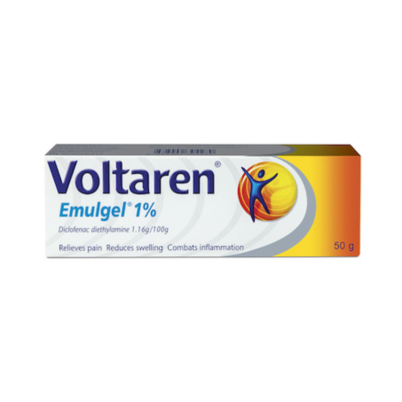 Voltaren Muscle Back and Joint Pain Relief EmulGel, 50g