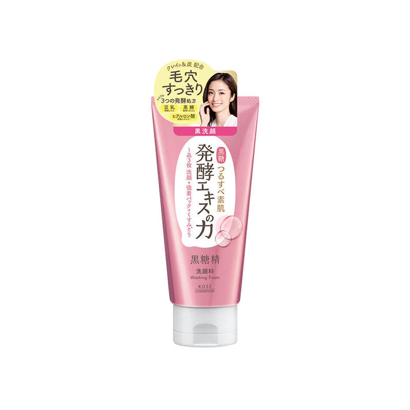 Kose Cosmeport Kokutousei Moist Washing Foam, 130g