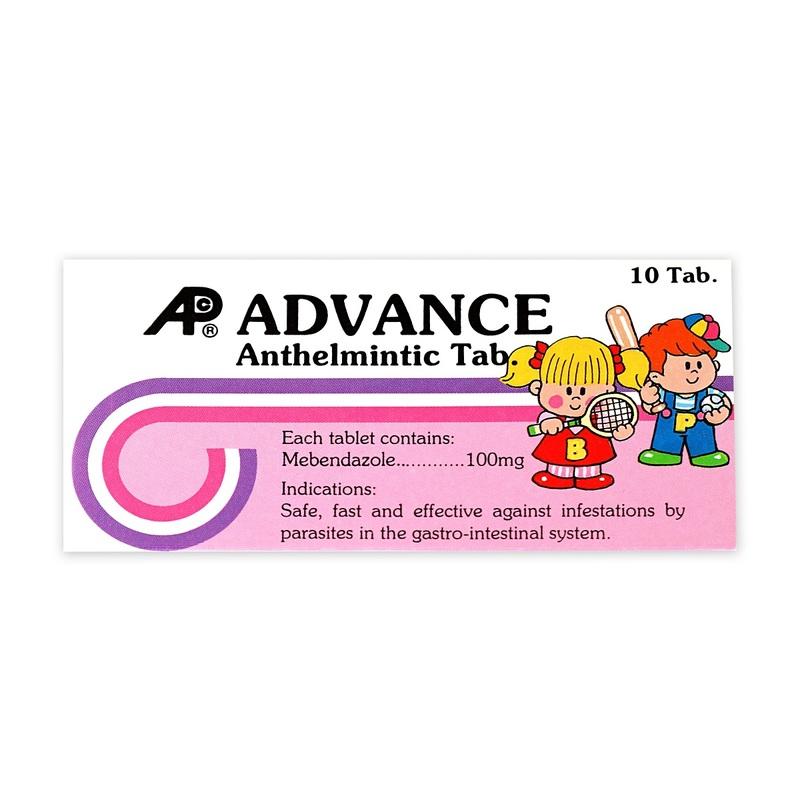 Advance Anthelmintic Tablets 10pcs