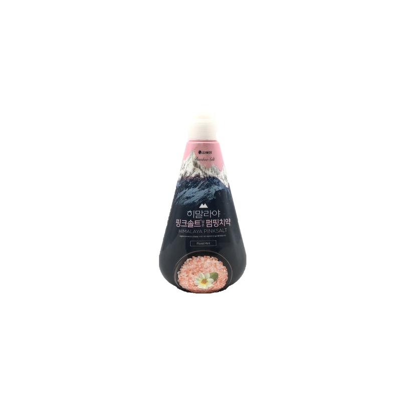 Bamboo Salt Himalaya Pink Salt Pumping Toothpaste (Floral Mint) 285g