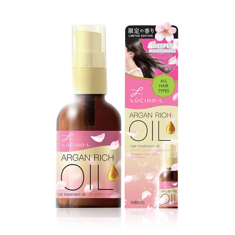 Lucido-L Cherry Blossom Argan Oil, 60ml