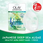 Olay Deep Sea Algae Healthy Aura Sheet Mask