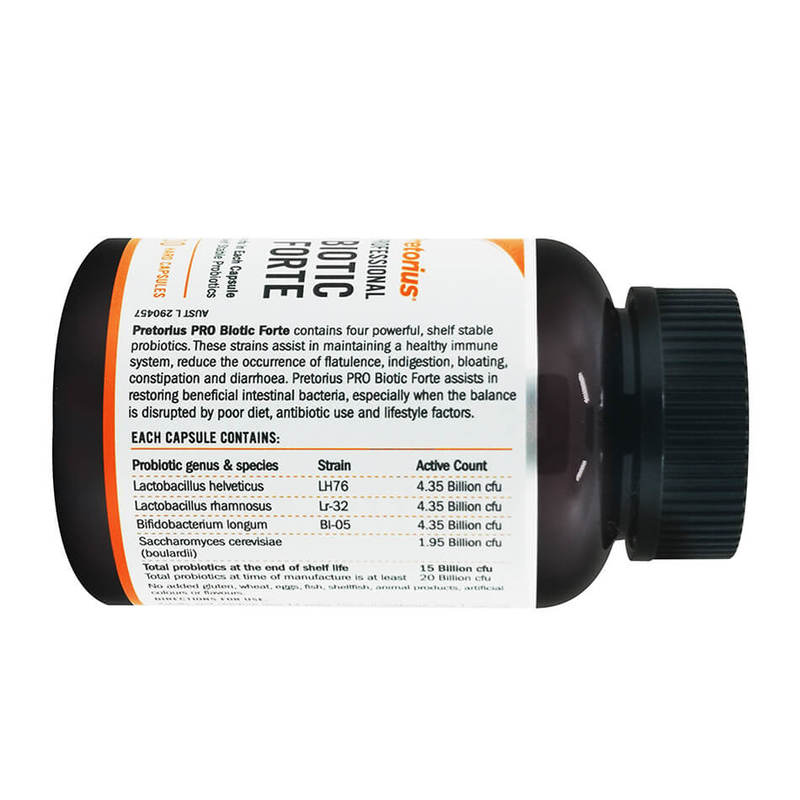 Pretorius Pro Biotic Forte, 30 capsules