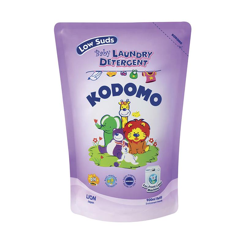 Kodomo Low Suds Baby Laundry Detergent Refill, 900ml
