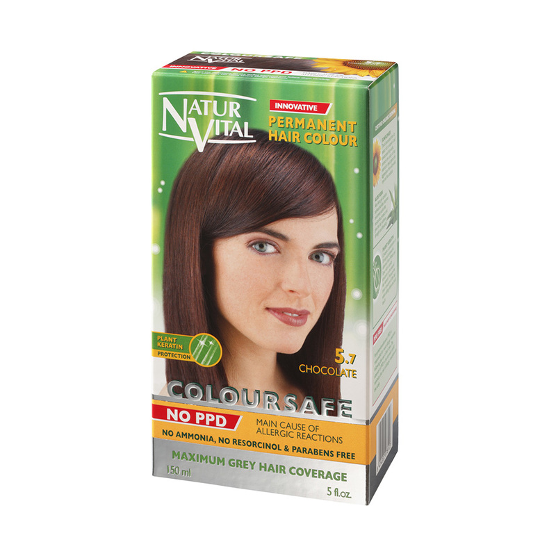 Natur Vital ColourSafe Permanent Hair Dye Chocolate