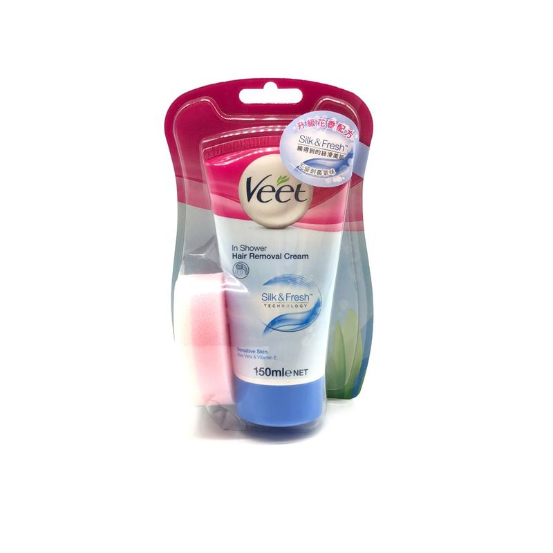 Veet Naturals In Shower Hair Removal Cream 150mL