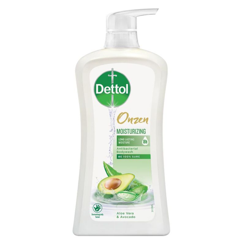 Onzen Moisturizing Anti-Bacterial Bodywash Aloe Vera & Avocado 950g