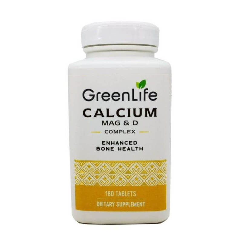 GreenLife Calcium Magnesium & D Complex 180 tablets
