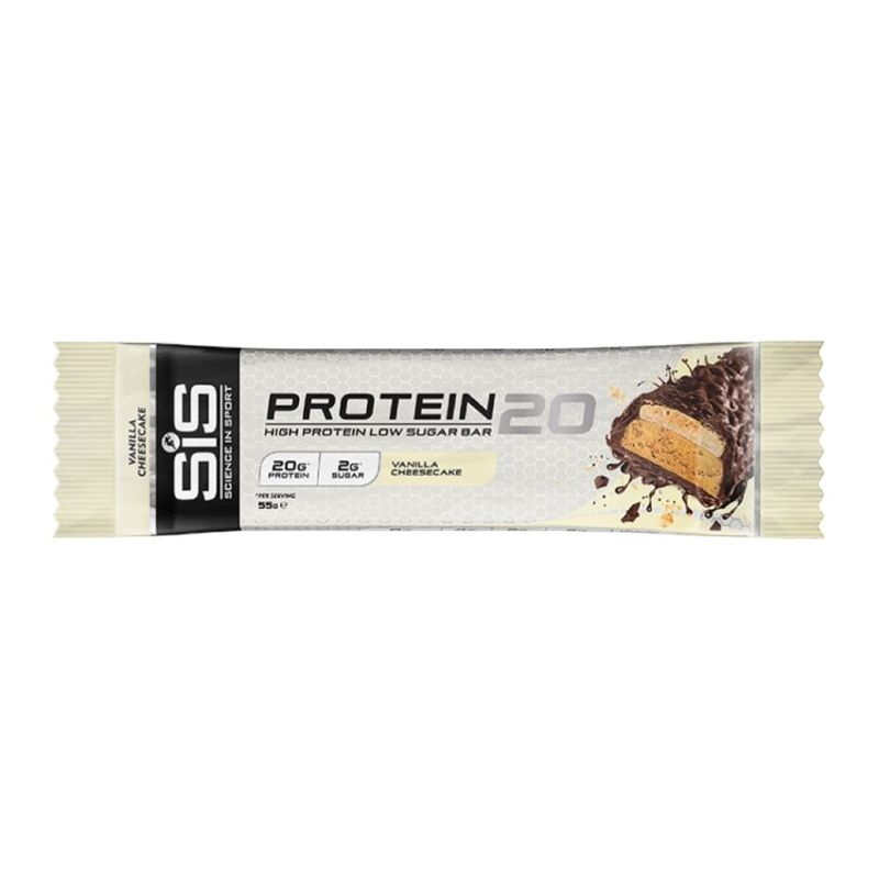 Science In Sport  Protein 20 Vanilla Cheesecake Bar 55g