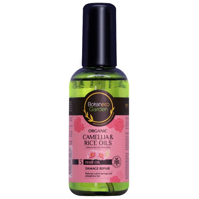 Botaneco Garden Camellia & Rice Oils Damage Repair Hair Oil, 95ml