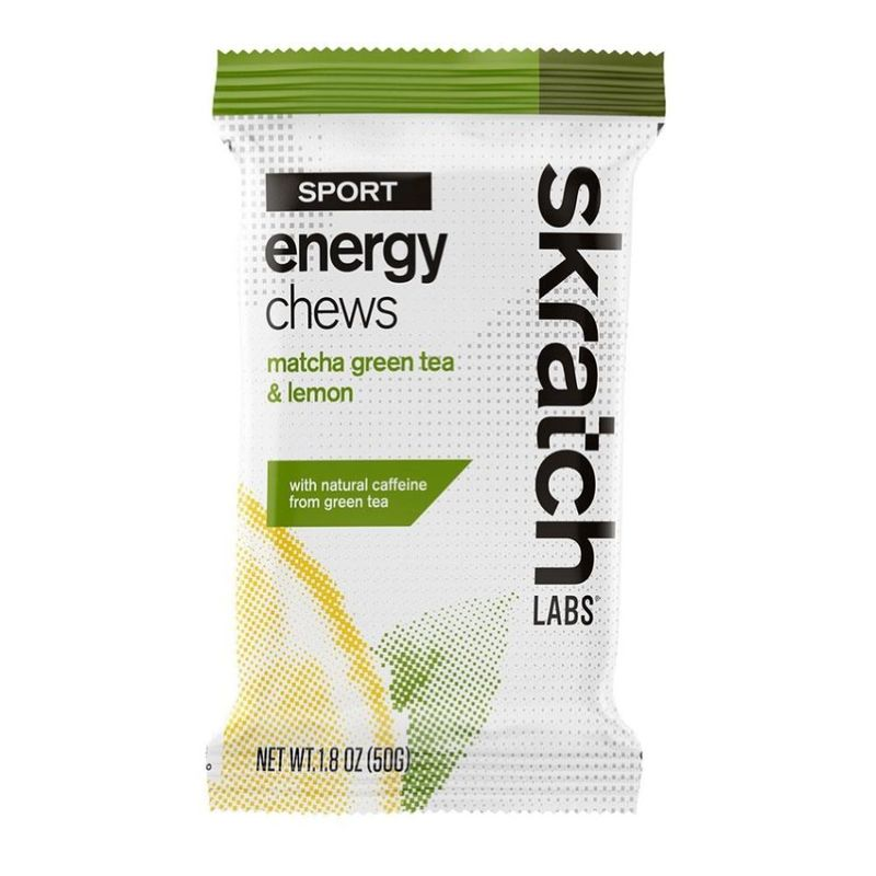 Skratch Labs  Skratch Sport Energy Chews Matcha Lemon 50g