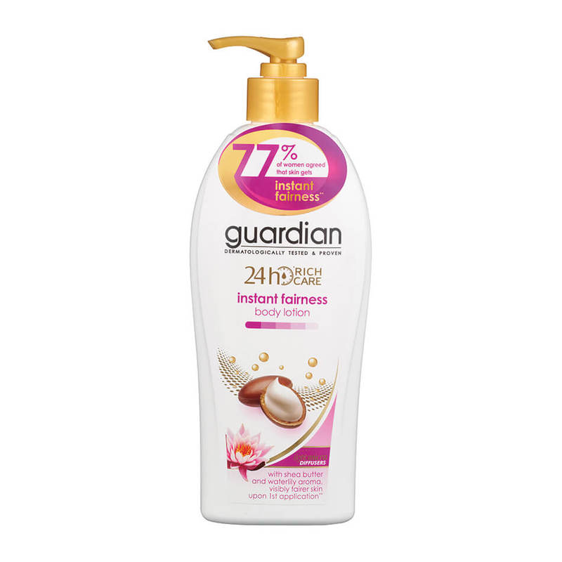 Guardian 24 Hour Rich Care Body Lotion Instant Fairness, 400ml