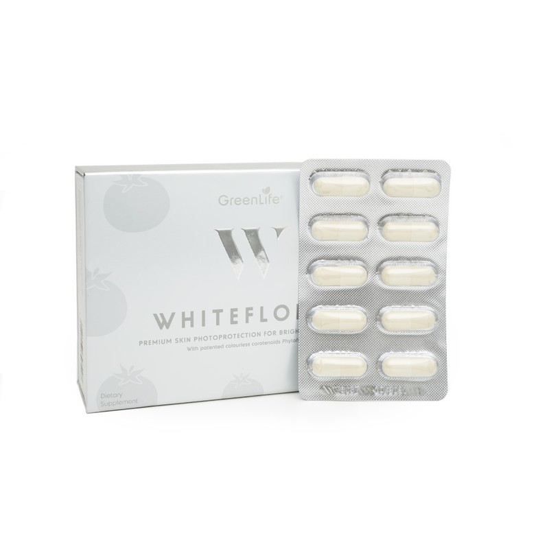 GreenLife WhiteFloral, 30 capsules