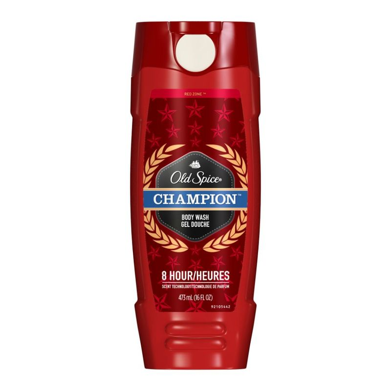 Old Spice Red Zone Champion Scent Body Wash, 473ml