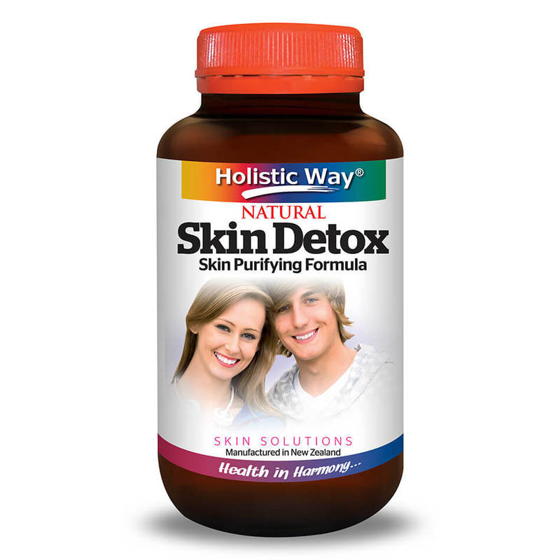 Holistic Way Skin Detox, 60 capsules