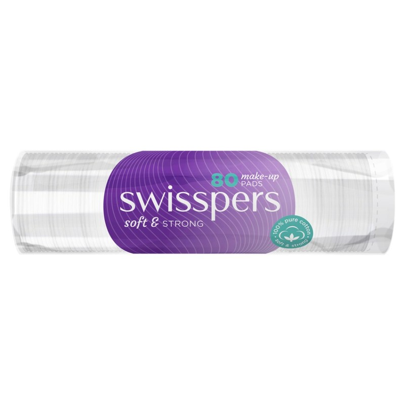 Swisspers  Round Make-up Pads  802s