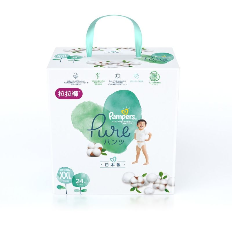 Pampers Pure Pants XXL 24pcs